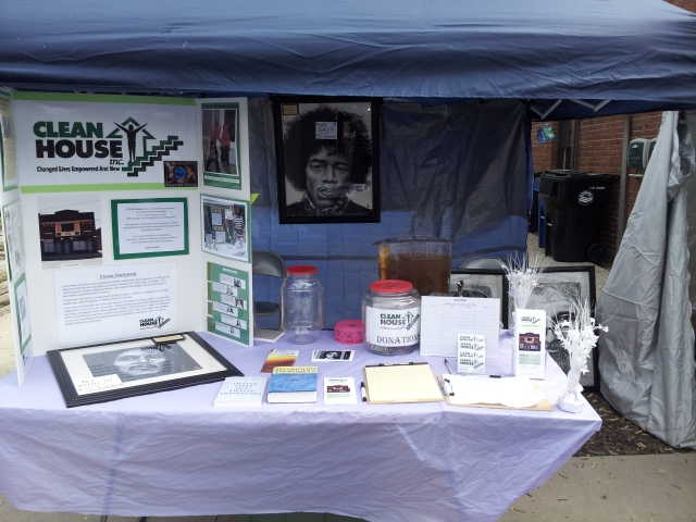 The Clean House information table will be at The Hessler Street Fair on May 17th and 18th of 2014!!